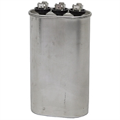 25/5 MFD 370 Volt AC Oval Dual Rated Run Capacitor 325P2505H37C25N4X