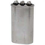40 / 7.5 MFD 440 VAC OVAL DUAL RATED RUN CAPACITOR