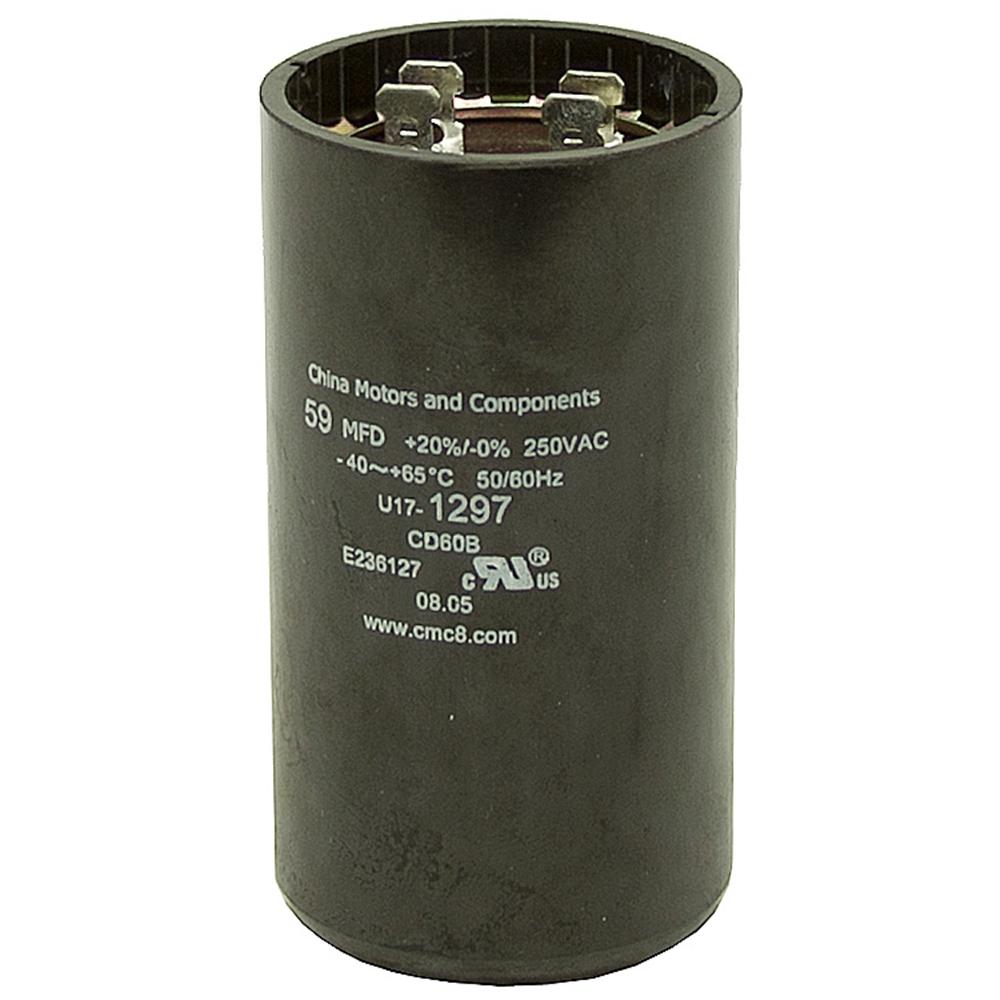 59 70 MFD 250 Volt AC Motor Start Capacitor