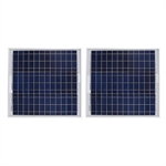 Pair of 30 Watt Solarland  SLP030-12U Solar Panels