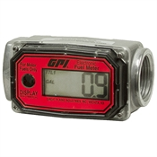 "3-30 GPM 1"" NPT 01A31GM Digital Fuel Meter"