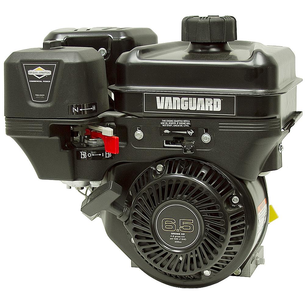 6 5 hp briggs stratton vanguard engine horizontal. Black Bedroom Furniture Sets. Home Design Ideas