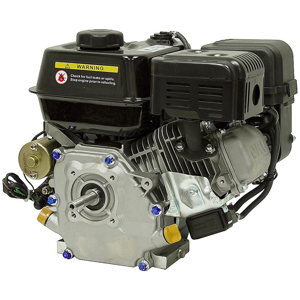6.5 HP HY200 Powerpro Elec Start Engine w/Threaded Shaft ...
