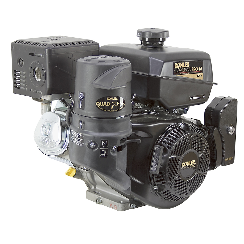 14 hp kohler engine w/electric start  zoom