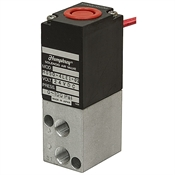 1/8 NPT 4-Way 2-Pos 24 Volt DC Solenoid Air Valve One Solenoid