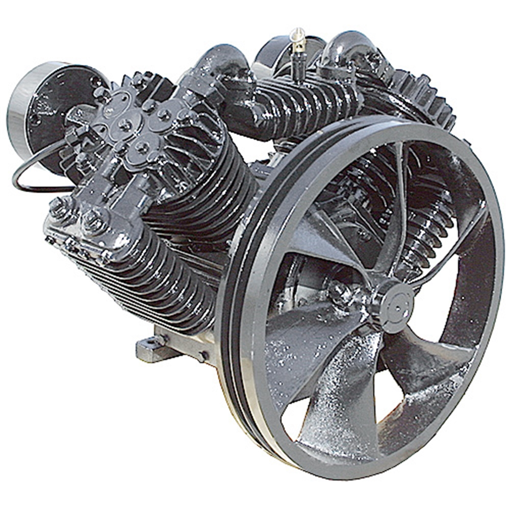 46 Cfm Air Compressor Pump Two Stage 10 Hp Belt Driven