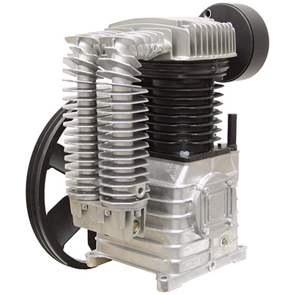 Air Compressor Blower : Cfm air compressor pump two stage hp belt