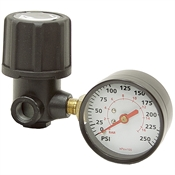 1/4 NPT Mini Air Regulator w/Gauge