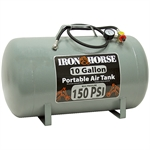 10 Gallon LHCT10 Portable Air Carry Tank Iron Horse
