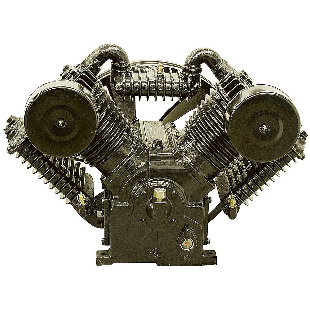 10 Hp V4 Two Stage Air Compressor Pump Belt Driven