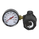 1/4 NPT Mini Air Regulator w/gauge (left side)