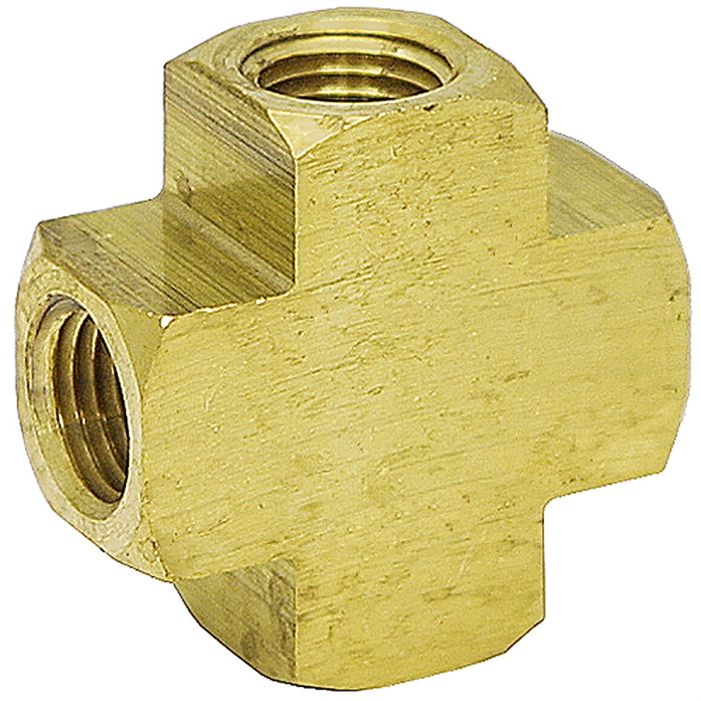 Cross quot nptf  brass fittings air