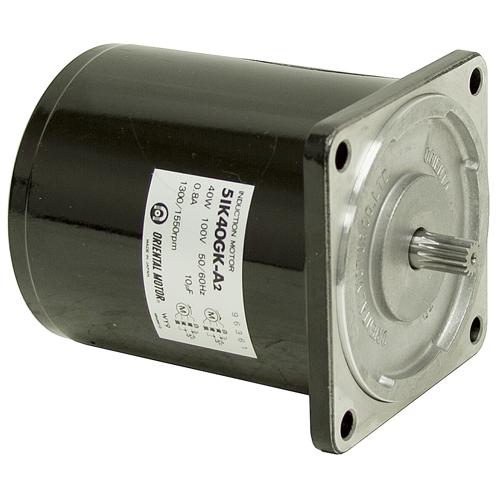 1550 RPM 100 Volt AC 1/20 HP Oriental Motor