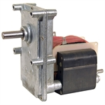 60 RPM 220 Volt AC 1/30 HP Shaded Pole Gearmotor