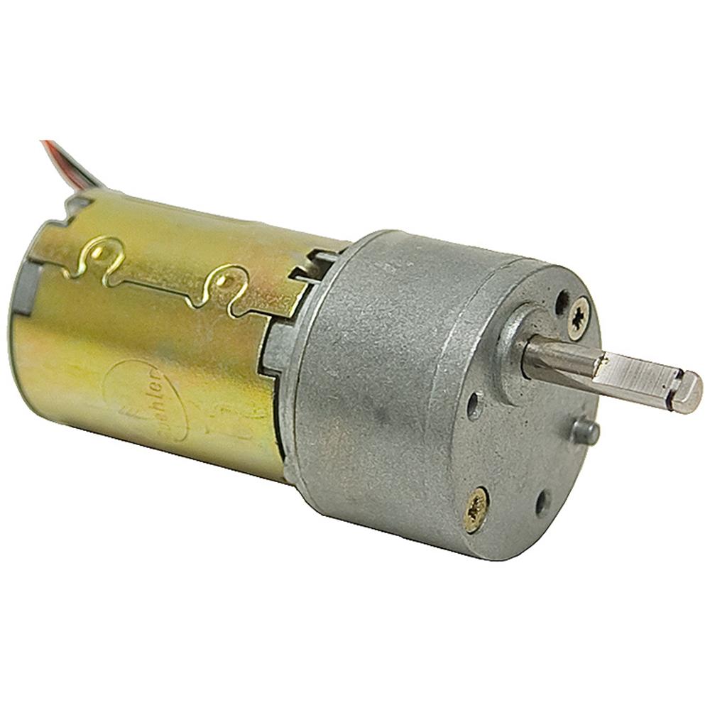 18 rpm 24 vdc gearmotor buehler dc gearmotors dc for Buehler 12v dc motor