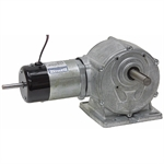 30 RPM 50 Volt DC Parvalux Gearmotor Single Shaft