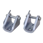 Linear Actuator Mounting Bracket - GlideForce - Light Duty Steel (2 Pack)