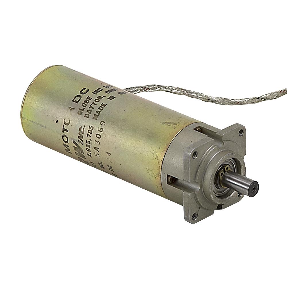 16 rpm 24 vdc inline gearmotor trw inc 5a3069 dc for We buy electric motors