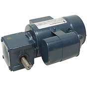 28 RPM 115 Volt AC Right Angle Gearmotor