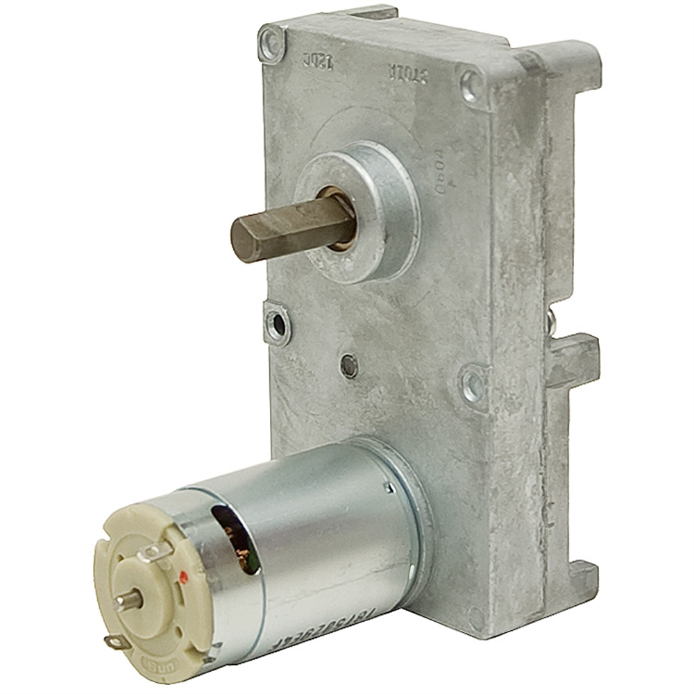 1 6 rpm 12 volt dc gearmotor dc gearmotors dc for Gears for electric motors