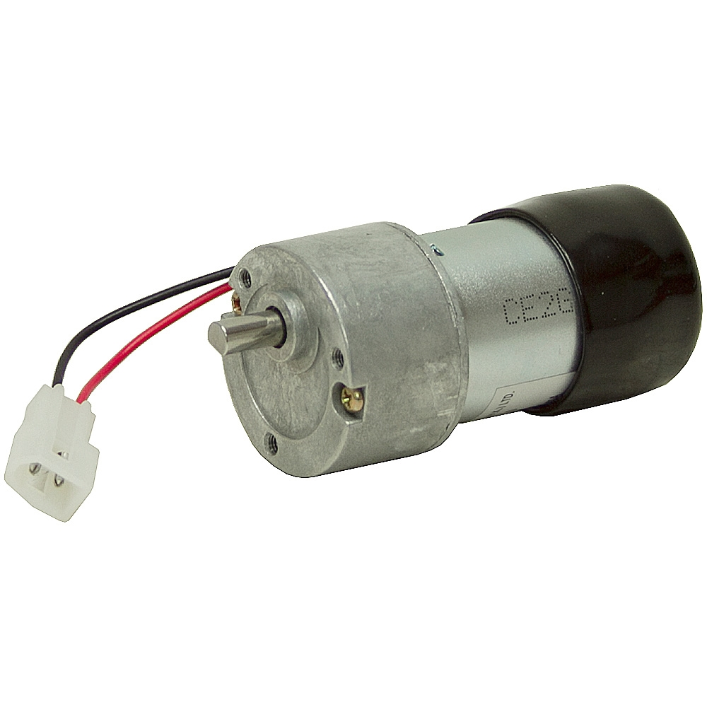 120 rpm 22 vdc inline gearmotor w rubber boot dc for 120 rpm ac motor