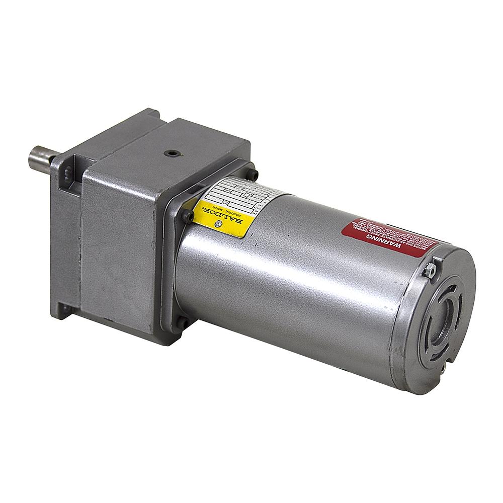 28 Rpm 230 Vac 1 12 Hp Baldor Inline Gearmotor Ac