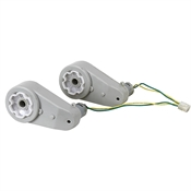 75 RPM 12 Volt DC Pair Toy Car Drive Gearmotor