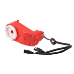 70 RPM 6 Volt DC Red Toy Car Drive Gearmotor