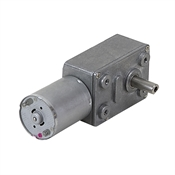 13 RPM 24 Volt DC Right Angle Gearmotor
