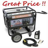 6500W 120/240V Gas Powered Generator Kit Dirty Hand Tools 104502