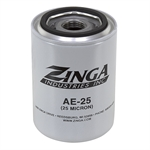 Replacement Filter Element 25 Micron Zinga AE25