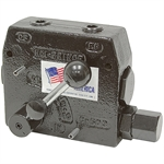 3/8 NPT Hydraulic Flow Control Valve w/ Relief RDRS137-08
