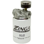 "3/4"" NPT 9 GPM Suction Filter w/Gauge Zinga FA1112-25"
