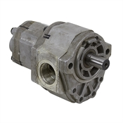 1.0/0.69 cu in Borg Warner 1202001004 Double Hydraulic Pump