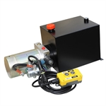 12 Volt DC 1.4 GPM 3000 PSI Single Acting Hyd Power Unit