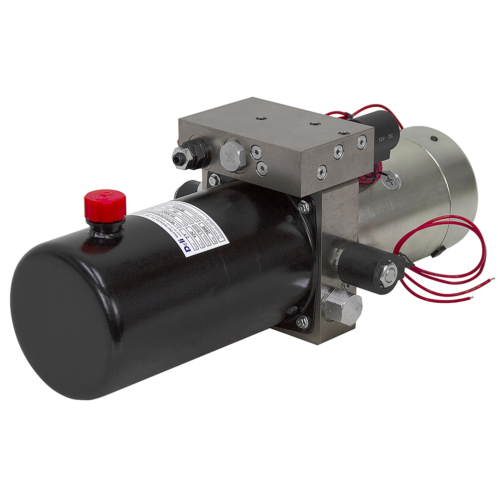12 Volt DC 1.4 GPM 2600 PSI Snow Plow Hyd Power Unit | Deli ... Haldex Snow Plow Wiring Diagram on