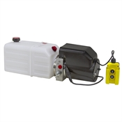 12 Volt DC Hydraulic Power Pack for Double Acting Cylinders