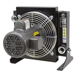 50 GPM AKG AR10-1 Oil Cooler w/ 115/230 Volt AC Fan