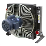80 GPM AKG AR20-1 Oil Cooler w/ 115/230 Volt AC Fan
