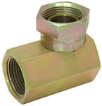 "1/4"" NPT Female x 1/4"" NPT Female Swivel 90 Degree Elbow 1502-04-04 Adapter"