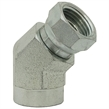 NPT Female to NPT Female Swivel - 45 Degree