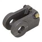 "1.25-12 ROD CLEVIS FOR 1"" PIN"