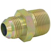 "JIC 10 Male x 3/4"" NPT Male Straight 2404-10-12 Adapter"