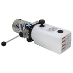 12 Volt DC 1.2 GPM 2500 PSI SPX Single Acting Power Unit