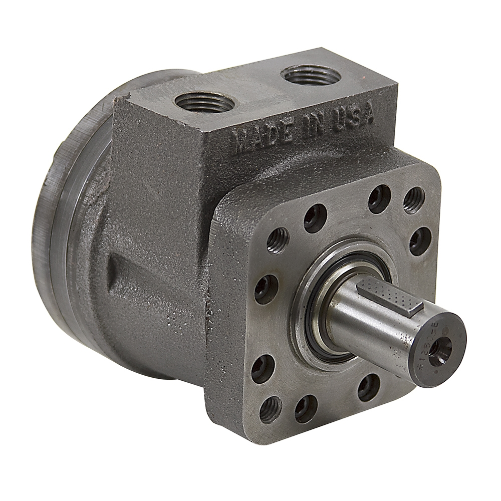 6 2 cu in orbmark 106w4f hydraulic motor low speed high for Two speed hydraulic motor