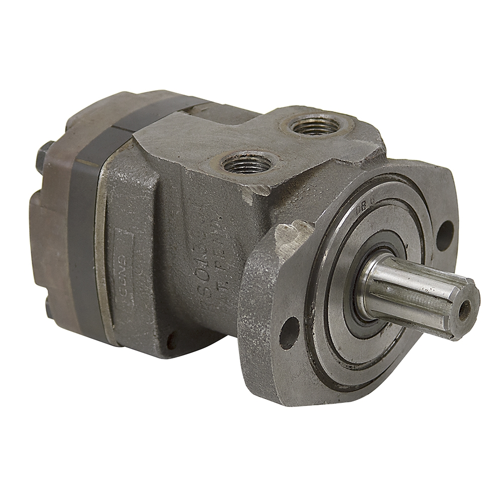5 4 Cu In White Hydraulic Motor Low Speed High Torque