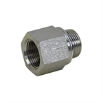 "3/4"" BSPP Male x 3/4"" NPT Female Straight 3455-12-12 Adapter"