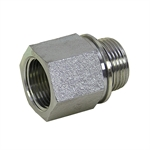 "1"" BSPP Male x 1"" NPT Female Straight 3455-16-16 Adapter"