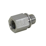 "1/4"" BSPP Male x 1/4"" NPT Female Straight 3455-04-04 Adapter"