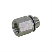 "3/8"" BSPP Male x 3/8"" NPT Female Straight 3455-06-06 Adapter"